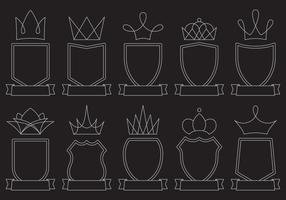 Blason Line Icons