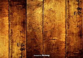 Vector Grungy Hardwood Scratched Planks