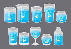 Effervescent Cup Icons