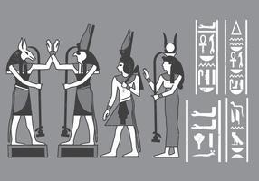 Egyptian icons Cartouches