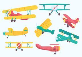 Free Biplane Vector