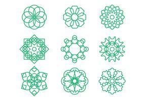 Free Arabesque Graphic Ornament Vectors