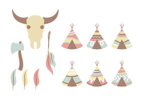 Pastel Tipi Vector Icon