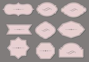 Cartouche Flat Design