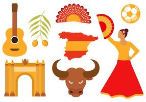 Free Spain Icons Vector