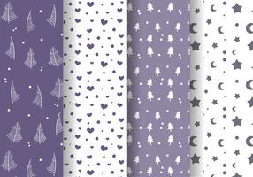 Free Winter Pattern Vector