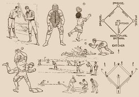 Baseball Drawings