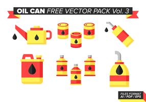 Oil Can Free Vector Pack Vol. 3