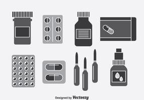 Medicine Box Vector Set