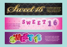Sweet 16 Banners