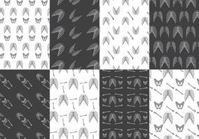 Ribcage Pattern Vectors