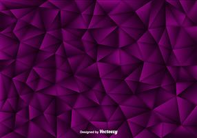 Vector Background Of Purple Polygons