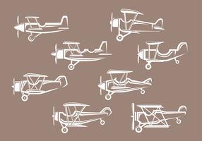 Biplane icons