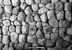 Vector Texture Of A Wall Of Rocks