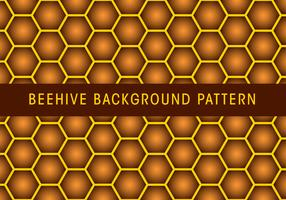 Beehive Background Pattern