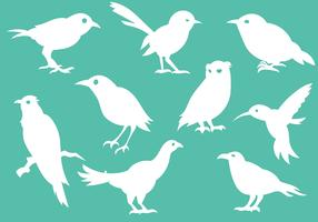 Free Bird Silhouette Icons Vector