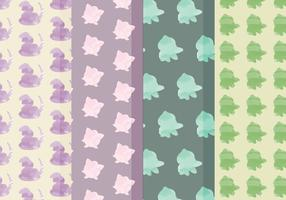 Vector Pokemon Patterns
