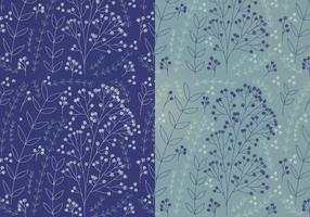 Vector Boho patrones florales