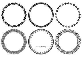 Sketchy Round Frames