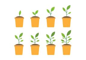 Free Grow Up Plant Icons