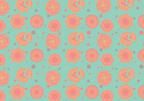 Mooncake Pattern Vector