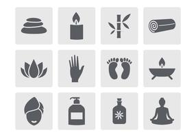 Free Spa Icons Vector