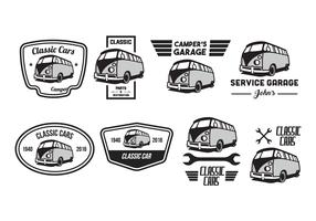 Free Classic Car Vector Pack