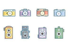 Free Vintage Camera Vector