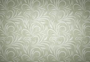 Olive Vector Western Flourish Seamless Pattern