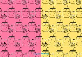 Smoothie Pattern Vector