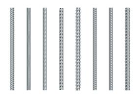 Rebars Vector Set