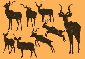 Kudu silhouette