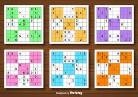 Vector Set Of Sudoku Game