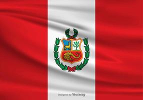 Vector Flag of Peru