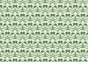 Emerald Vine Vector Western Flourish Pattern