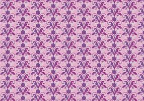Pink Vector Western Flourish Pattern