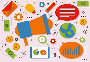 Free Digital Marketing Vector Design