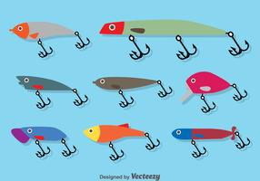 Fishing Lure Flat Vector