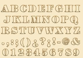 Stempel Outline Type