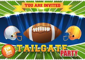 Tailgate Background Vector