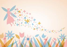 Free Pixie Dust Background Vector
