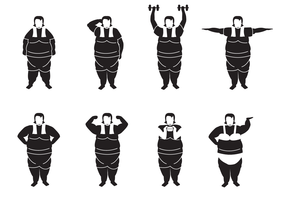 Free Fat Woman Vector