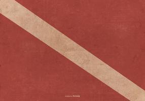 Grunge Dive Flag