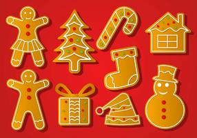 Free Christmas Lebkuchen Vector