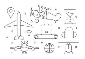 Free Airplane Icons