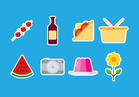 Picnic Sticker Icon