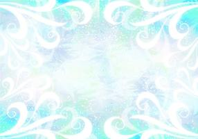 Blue Vector Pixie Dust Background
