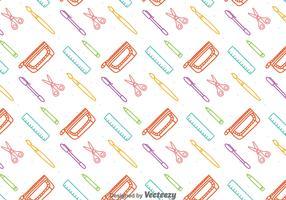 Colorful Stationary Seamless Pattern