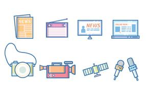 Free News & Journalism Vector