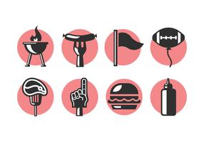 Tailgate Party Icons